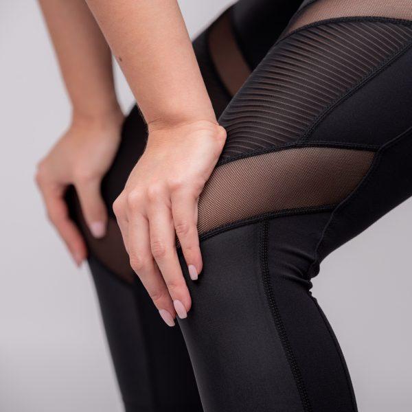 Women's Crop Moto Leggings