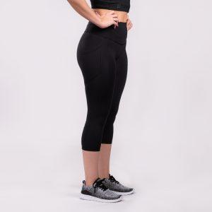 Women's Crop Leggings With Pockets